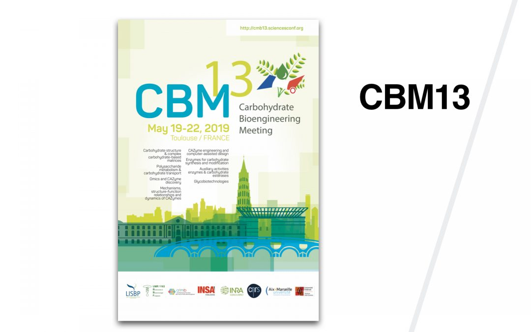 CBM13 – Carbohydrate Bioengineering Meeting – Toulouse 2019