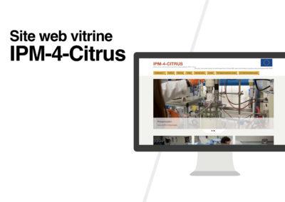 Site web vitrine | IPM-4-Citrus
