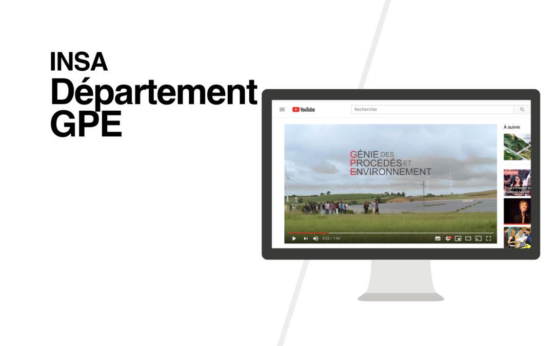 Vidéo | Département GPE INSA Toulouse